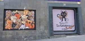 Fachada de La Gatoteca